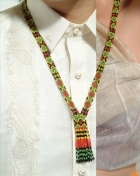 100279 Beaded necklace / Baliog